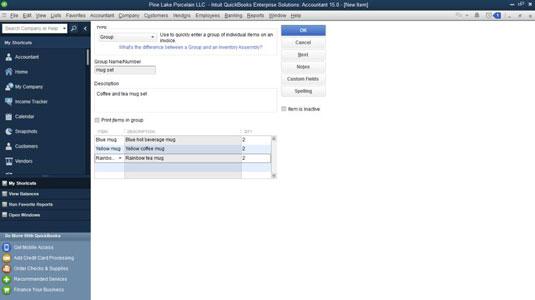 How To Create Special Items For QuickBooks Invoices Dummies - Quickbooks invoice subtotal