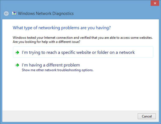 Troubleshooting an Internet Connection - dummies