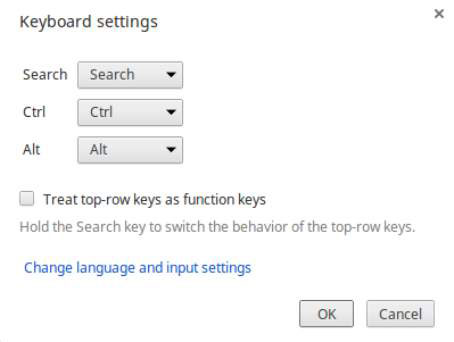 Configure Your Chromebook Keyboard Settings - dummies