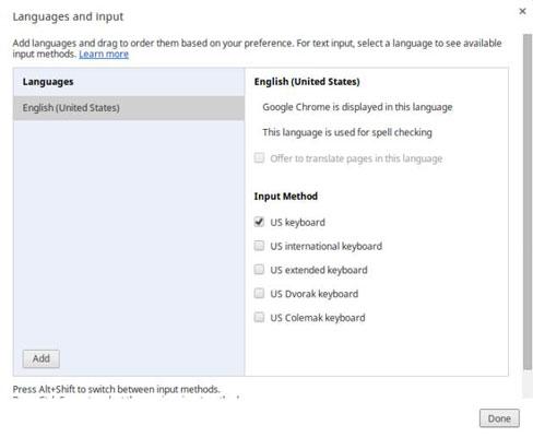 Chromebook: Change Your Keyboard Language - dummies