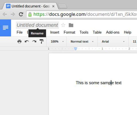 Chromebook  How to Save Documents - dummies 4ecb36ae54