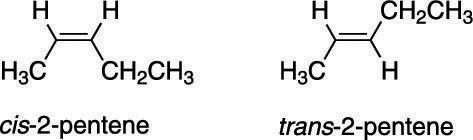 """<i/></noscript>Cis and <i>trans</i> 2-pentene.""""/> <div class="""