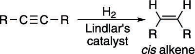 "Using Lindlar's catalyst to make <i/></noscript>cis alkene.""/> <div class="