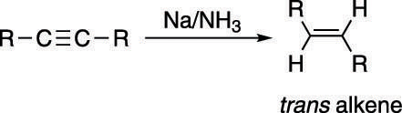 "Making a <i/></noscript>trans alkene from an alkyne.""/> <div class="