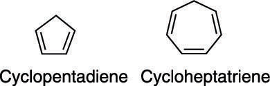 Cyclopentadiene and cycloheptatriene—which is more acidic?