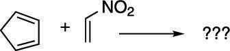 A Diels–Alder reaction.