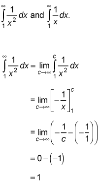 Solve Improper Integrals with One or Two Infinite Limits of