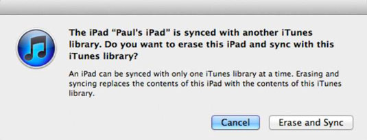 Syncing the same type of content from two different computers is a no-no in the iTunes world.