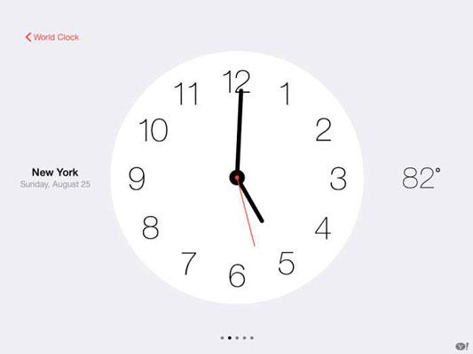 How to Use Your iPad's Clock App - dummies
