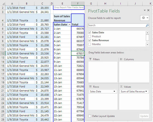 4 Excel Forecasting Functions - dummies