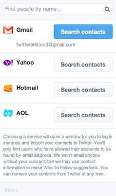 How to Find Contacts on Twitter - dummies