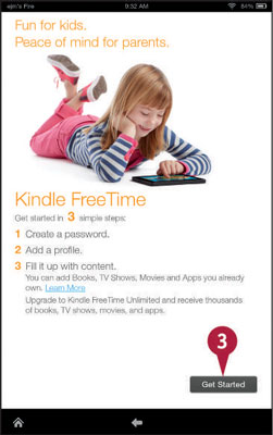 how to set up kindle