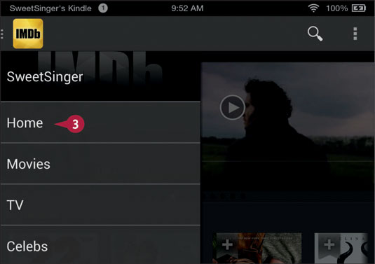 Explore the IMDb Movies & TV App on Your Fire Tablet - dummies