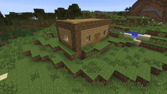minecraft house building instructions