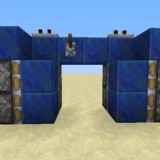 adding sticky pistons to hidden minecraft door