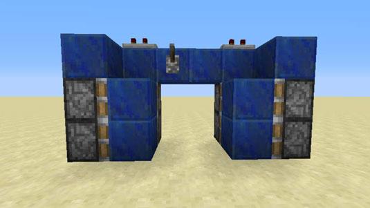Building the hidden Minecraft piston door. & How to Make a Hidden Sticky Piston Door in Minecraft - dummies Pezcame.Com