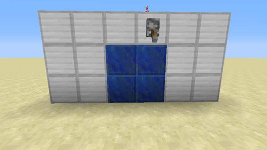 minecraft hidden piston door & How to Make a Hidden Sticky Piston Door in Minecraft - dummies Pezcame.Com