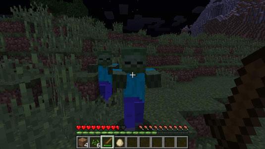 วิธีเอาตัวรอดคืนแรกของคุณใน Minecraft