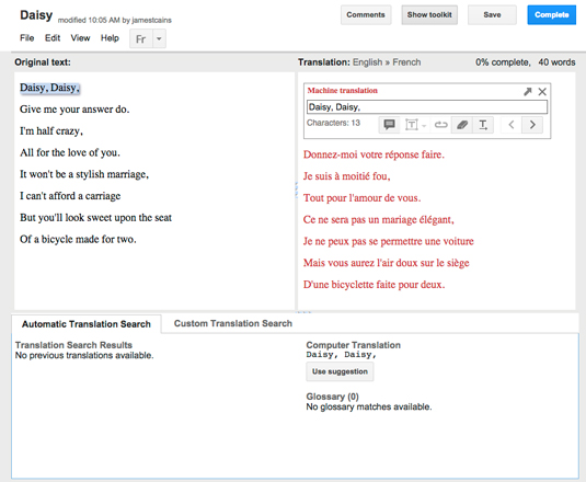 How to Edit Translations with Google Translator Toolkit