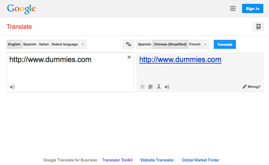 English To Italian Translator Google: How To Translate A Website With Google Translate