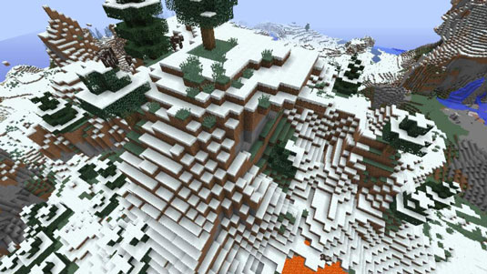 minecraft cold biomes