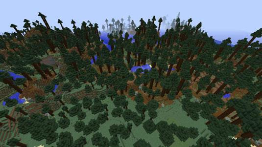 minecraft tiaga biome