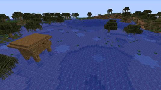 minecraft swampland biome