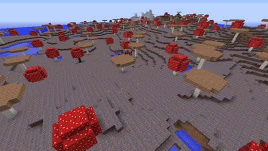 minecraft mushroom island biome