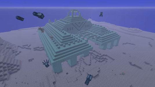 minecraft ทะเลอนุสาวรีย์