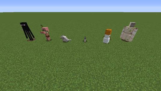 Minecraft Mobs & Monsters - dummies