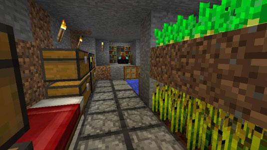 ravines in minecraft