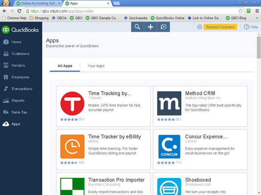 Add-On Apps for QuickBooks Online - dummies