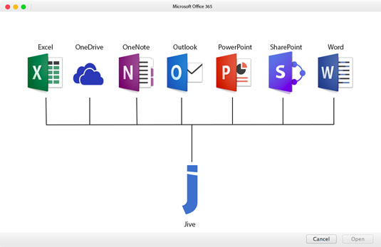 Jive Integration with Microsoft Office 365 - dummies