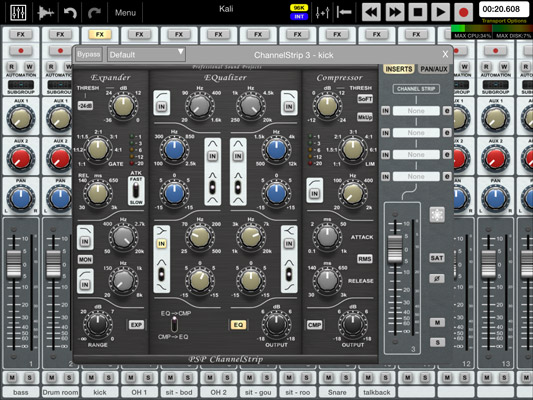 How to Apply EQ to Music Tracks Recorded on Your iPad or