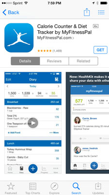 How to Use MyFitnessPal Mobile - dummies