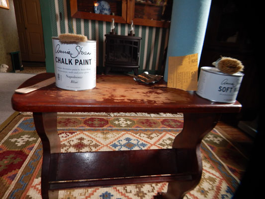 Supplies Needed To Paint A Room how to paint furniture with chalk paint - dummies