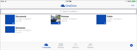 How to Sign In to OneDrive from Your iPad - dummies