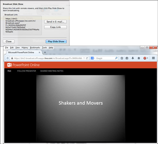 How to Show Your PowerPoint Presentation to Others Online