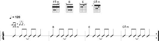 Eighth-note shuffle 3.