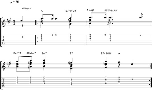 How To Play Chord Melody Style On The Guitar Dummies