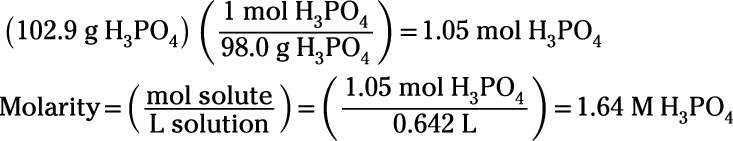 How to Measure Concentration Using Molarity and Percent
