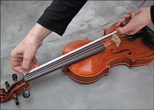 Musical Instruments Black Violin Fiddle Fingerboard Chord Note Sticker Fret Marker Label For Beginner