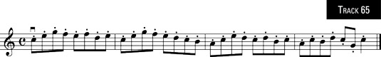 """Homage to Kreutzer"" in spiccato."