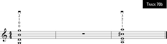 Two four-note chords to get ahead with!