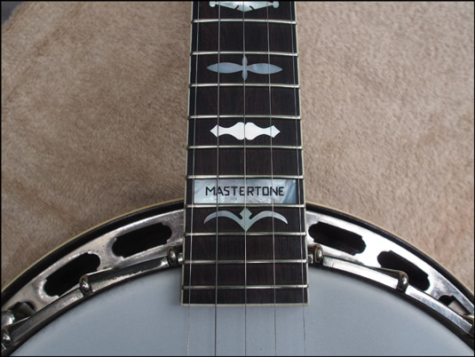 A 24‐fret custom neck featuring a two‐fret fingerboard extension. [Credit: Photograph c