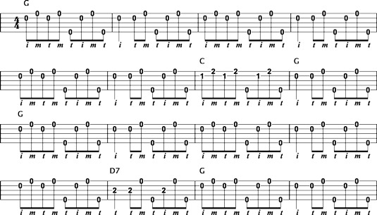 How to Play Foggy Mountain Rolls on the Bluegrass Banjo - dummies