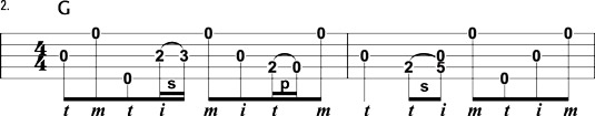 Fill-in lick all bluegrass banjo players should know.