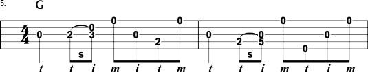 Perfect bluegrass banjo lick to use with a medium tempo song .