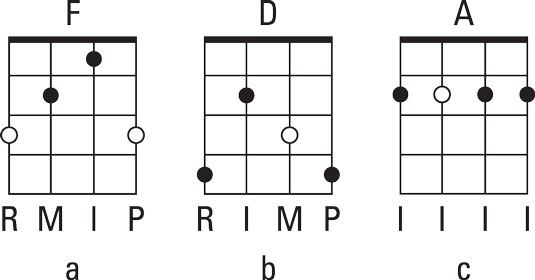 Mapping Out Up-the-Neck Chords on the Bluegrass Banjo - dummies