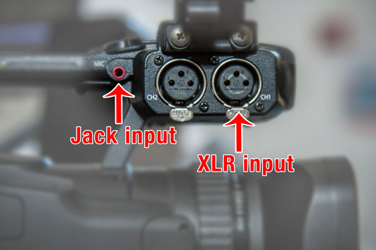 Check out the sockets on your camera.
